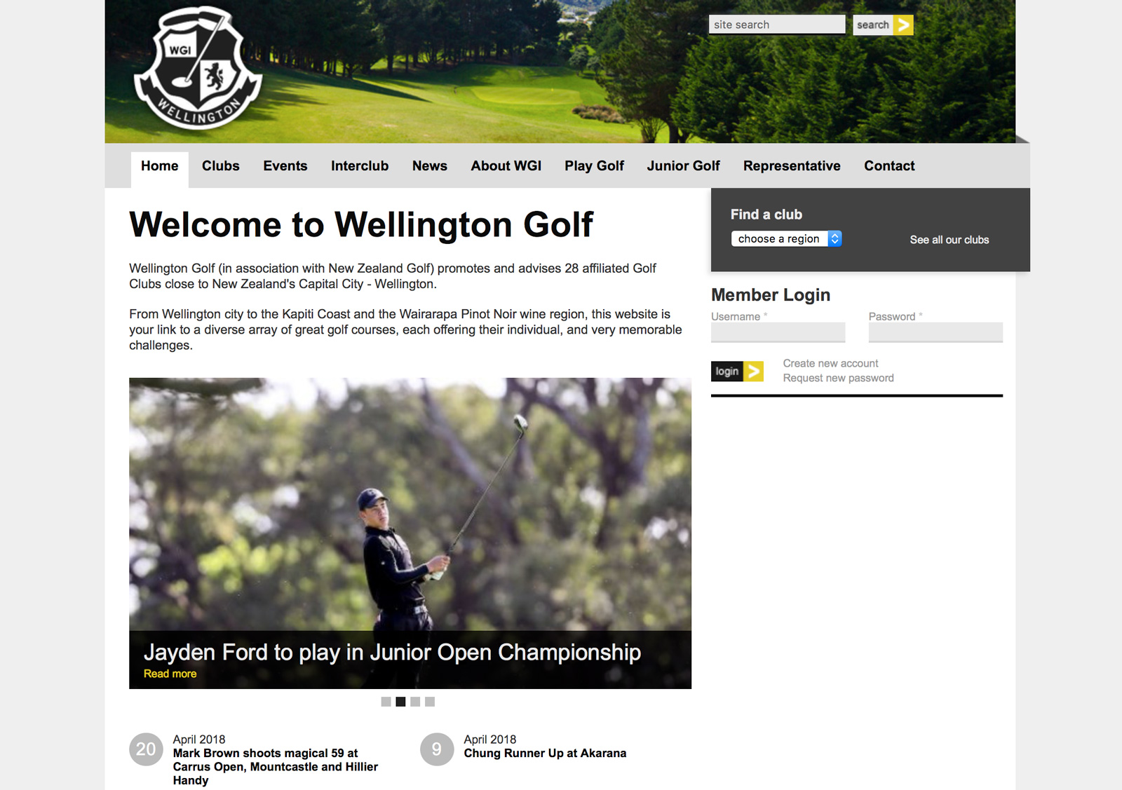 Wellington Golf