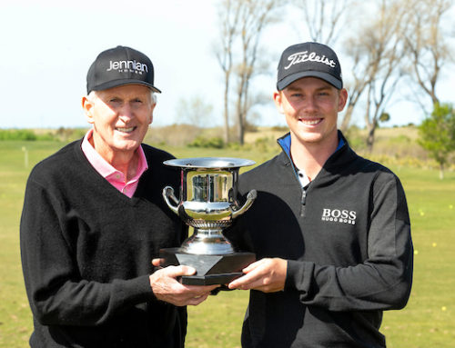 HILLIER CLAIMS HIS THIRD JENNIAN HOMES CHARLES TOUR EVENT.