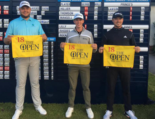Rising Kiwi Star Daniel Hillier Qualifies for The Open